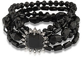 Carolee Gotham Multi-Row Stretch Bracelet