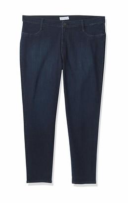 James Jeans Women's Plus-Size Leggy Z Faux Legging Jean in Kensington