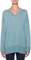 The Row Sabrina Cashmere V-Neck Sweater