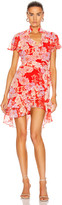 Alexis Melyssa Dress in Red Floral | FWRD
