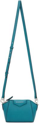 Givenchy Blue Nano Antigona Bag