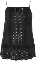 Topshop MATERNITY Mixed Broderie Camisole Top