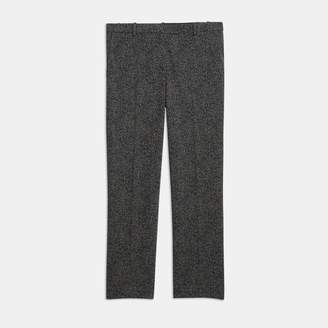 Theory Speckled Knit Cropped Tailored Trouser
