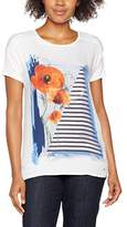 Gerry Weber Women's Poppy Print T-Shirt