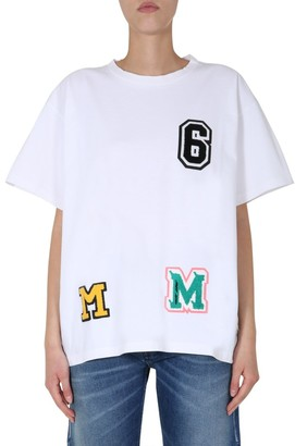 MM6 MAISON MARGIELA Patch Oversized T-Shirt