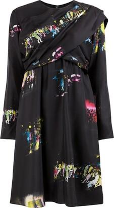 Sies Marjan club print mini dress