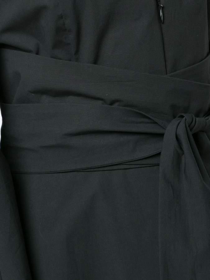 Natori V-Neck tie wrap dress