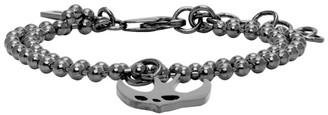 McQ Gunmetal Swallow Bracelet
