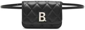 Balenciaga B. quilted leather belt bag