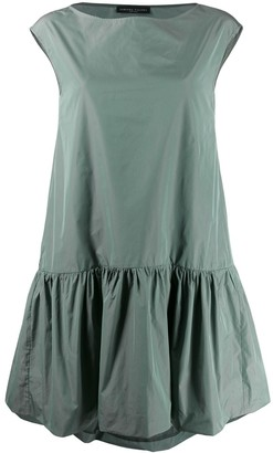 Fabiana Filippi pleated drop-hem dress