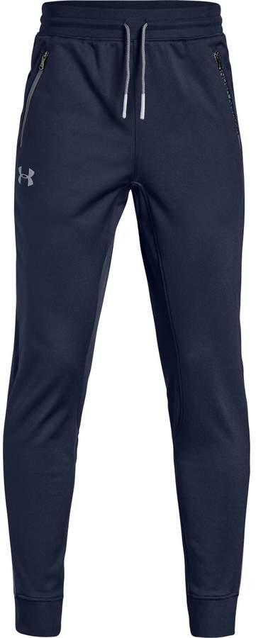 9046a130a Under Armour Blue Boys' Pants - ShopStyle
