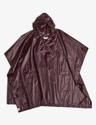 Hay Mono woven rain poncho