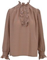 Stella McCartney Rouched Silk Shirt
