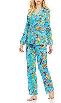 Lauren Ralph Lauren Paisley Jersey Pajamas