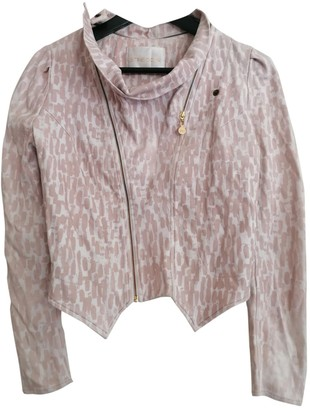 Stine Goya Pink Cotton Jacket for Women
