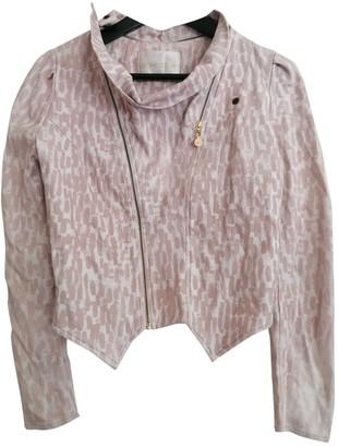 Stine Goya Pink Cotton Jackets