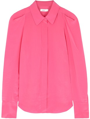 A.L.C. Carrera Pink Silk Blouse