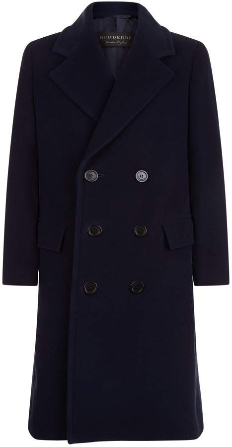 Burberry Wool Cashmere Overcoat