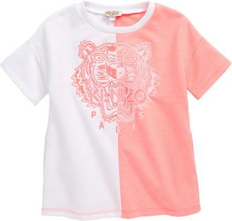 Kenzo Embroidered Tiger Logo Dress