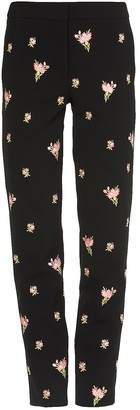 Moschino Embroidered Trousers