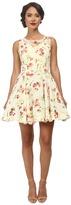 Unique Vintage Short Chiffon High Society Dress