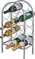 Living HOME 14 Bottle Chrome Wine Rack
