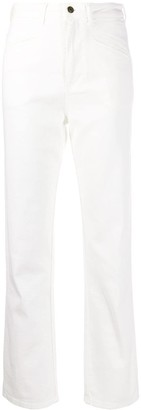 Philosophy di Lorenzo Serafini High-Waisted Straight Leg Jeans