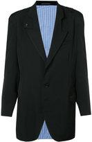Yohji Yamamoto tab collar jacket