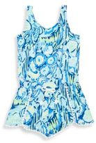 Lilly Pulitzer Toddler's, Little Girl's & Girl's Bala Printed Jersey Romper
