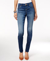 INC International Concepts Beyond Stretch Indigo Wash Curvy Skinny Jeans, Only at Macy's