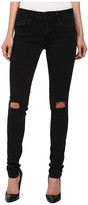 Mavi Jeans Adriana in Black Ripped Super