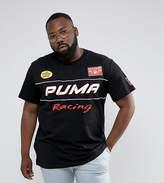 Puma Plus Moto Racing Print T-Shirt Exclusive To Asos
