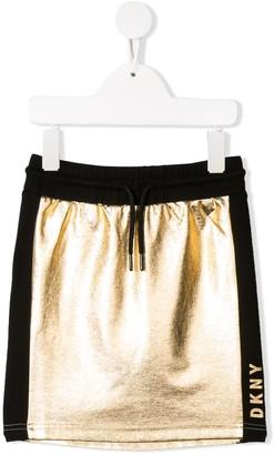 DKNY elasticated waistband skirt