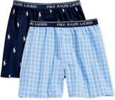 Polo Ralph Lauren 2-Pk. Printed Boxers, Little Boys & Big Boys