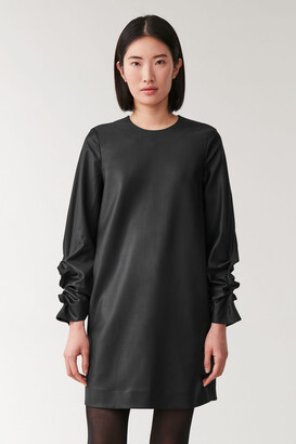Cos Cocoon Wool Dress