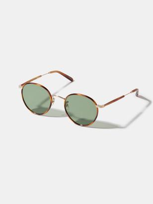 Garrett Leight Wilson Round 49 mm Sunglasses