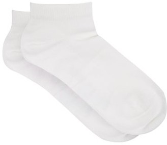 Falke Family Stretch-cotton Ankle Socks - Womens - White