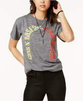 Bravado Juniors' Guns & Roses Graphic T-Shirt