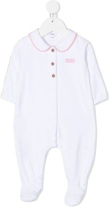Boss Kids Long Sleeve Contrasting-Trim Body