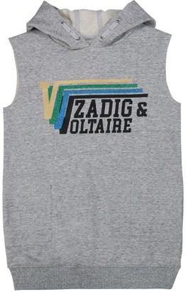 Zadig & Voltaire Sleeveless Sweatshirt Dress (6-16 Years)