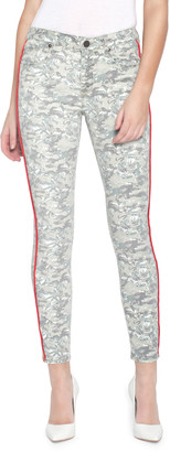 Parker Smith Ava Printed Skinny Jeans w/ Side Stripes