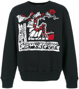 Versus Clan print sweater