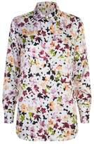 Equipment Essential Floral Silk Shirt