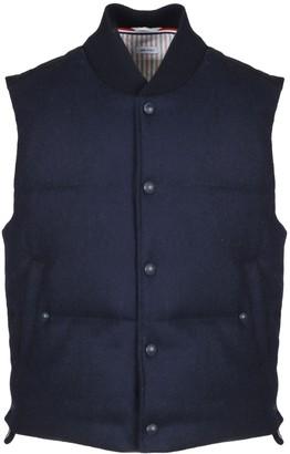 Thom Browne Blue Navy Vest