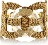Versace Metal chain circle bracelet