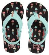 Reef Infant Girl's 'Little Ahi' Thong Sandal