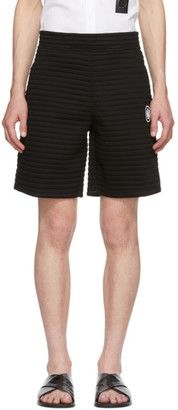 Neil Barrett Black Chanelled Shorts