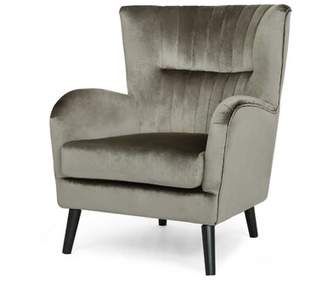 3.1 Phillip Lim Winterburn Wingback Chair Mercer41 Upholstery Color: Gray