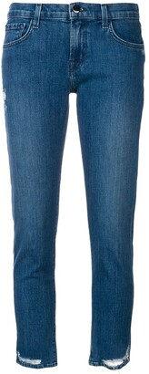 J Brand Distressed Detail Jeans