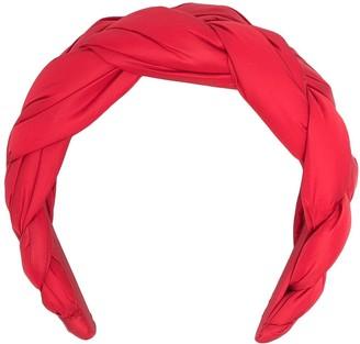 Red(V) Chunky Braided Headband
